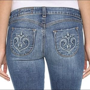 NWOT Siwy skinny ankle jeans - size 25